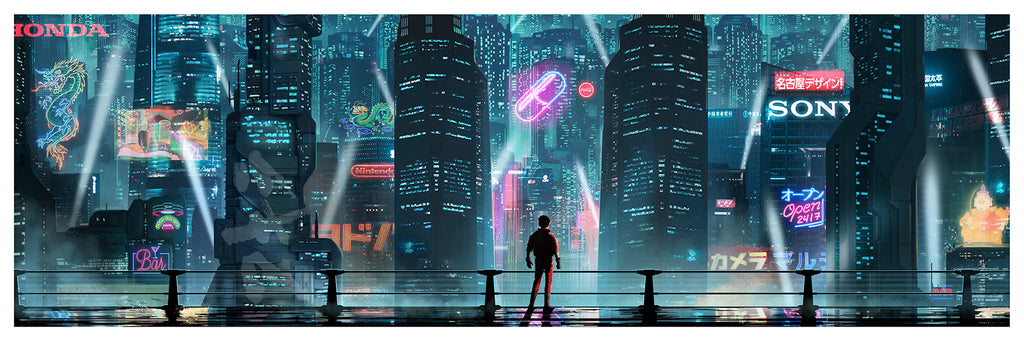 Neo Tokyo By Pablo Olivera The Cornetto Trilogy By Doaly On Sale I Bottleneck Art Gallery