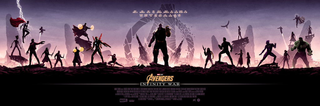 AVENGERS: INFINITY WAR by Matt Ferguson On Sale Info!