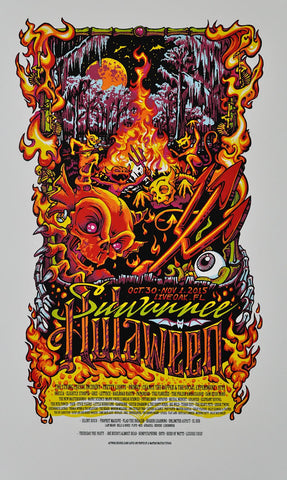 "AJ Masthay's ""Suwannee Hulaween"", ""Chris Cornell"", and ""Camp Barefoot"" Print Info!"