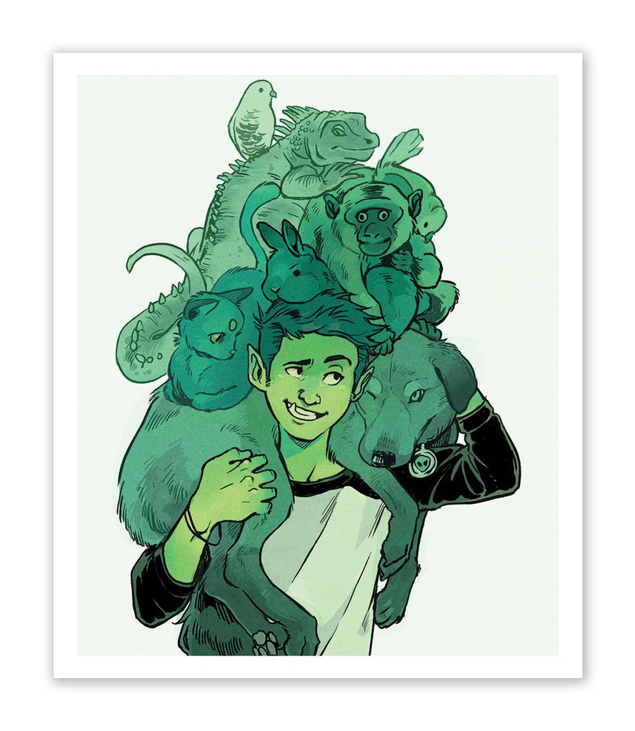 Beast Boy Teen Titans