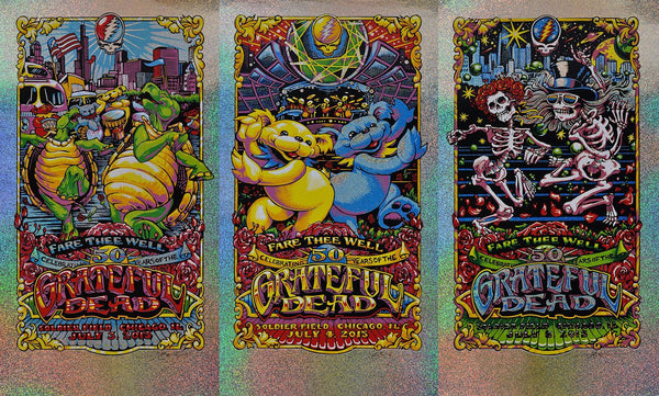 AJ Masthay's Grateful Dead - Fare Thee Well Foil Set Lottery Info!