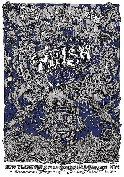 "David Welker's ""Phish - New Years Run @ MSG"" Lottery Details!"