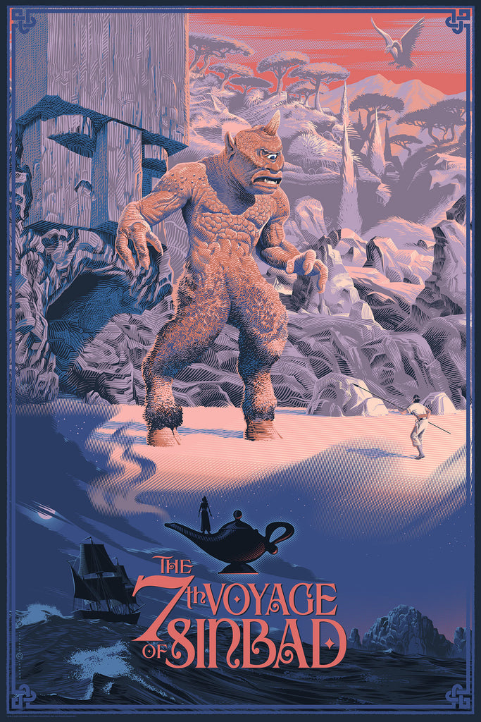THE 7TH VOYAGE OF SINBAD BY LAURENT DURIEUX & CYCLOPS SOFUBI VINYL - ON SALE INFO!
