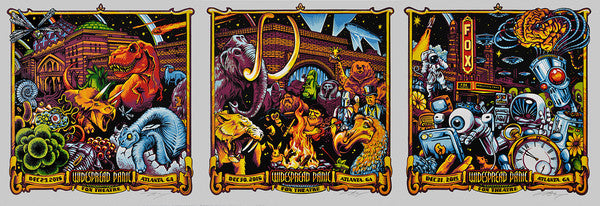 "AJ Masthay's ""Widespread Panic - New Years Eve-olution"" Print Sets On Sale Today!"
