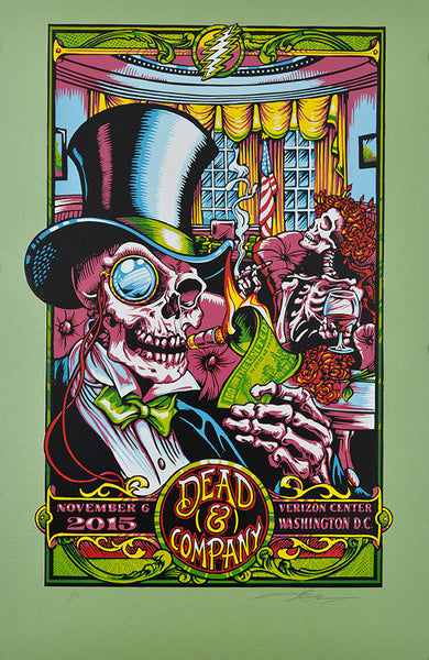 "AJ Masthay ""Dead & Co - In Dead We Trust"" Fairway Green Variant"
