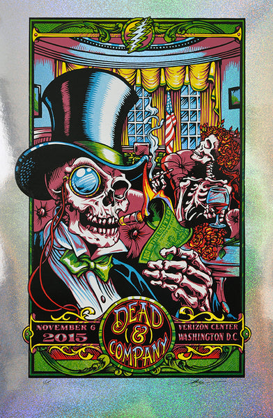 "AJ Masthay ""Dead & Co - In Dead We Trust"" Sparkle Foil Variant"