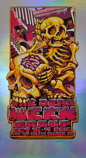 "AJ Masthay ""The Dean Ween Group"" Pillar Foil"