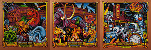 "AJ Masthay ""Widespread Panic - NYE Triptych"" Copper Pearl"
