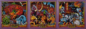 "AJ Masthay ""Widespread Panic - NYE Triptych"" Purple Pearl"