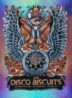 "AJ Masthay ""Disco Biscuits NYE"" Sparkle Foil"