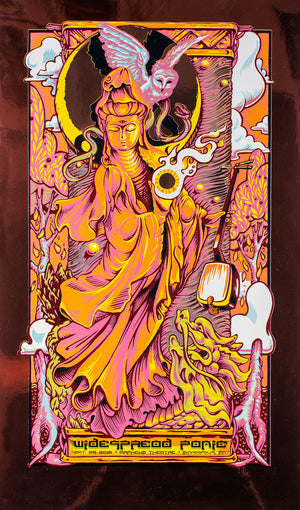 "AJ Masthay ""Widespread Panic - Minneapolis"" Copper Foil"