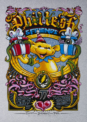 "AJ Masthay ""Phil Lesh 77th Birthday Run"" Diamond Sparkle"