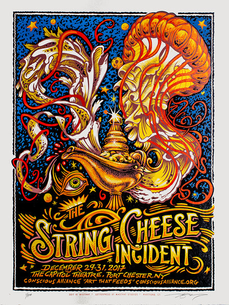 "AJ Masthay ""The String Cheese Incident - Capitol Theatre"" Stonehenge"
