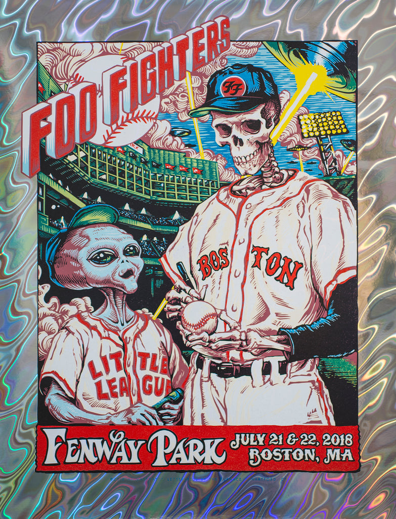 DEAD & COMPANY SUMMER TOUR / FOO FIGHTERS - FENWAY PARK by