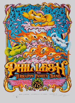 "AJ Masthay ""Phil Lesh 78th Birthday"" Lettra"