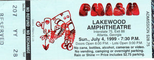 Phish Robots from 1999 Mail Order Tickets on one Proof