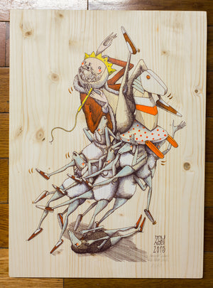 "ZED1 ""The Black Sheep"" Wood Variant #2/30"