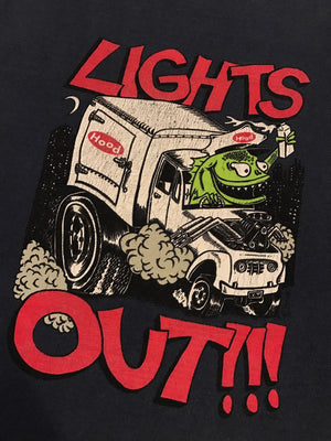 Phish Lights Out '96 Shirt Design 11x15 Proof on thin stock