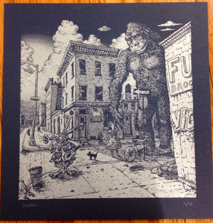 "David Welker ""Sunset in Brooklyn"" Blue Variant"