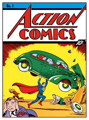 Superman: Action Comics No. 1 - 80th Anniversary Cover