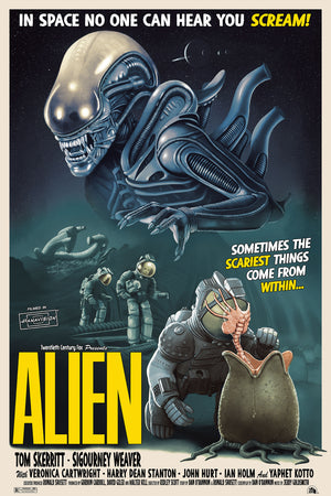 "Tom Walker ""ALIEN - PREPARE YOURSELF"" Variant"