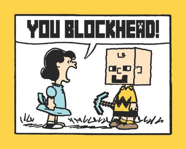 "Bojo ""You Blockhead!"" Yellow Variant"