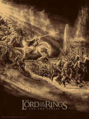 "Chris Skinner ""The Lord of the Rings: The Two Towers"" Foil Variant"