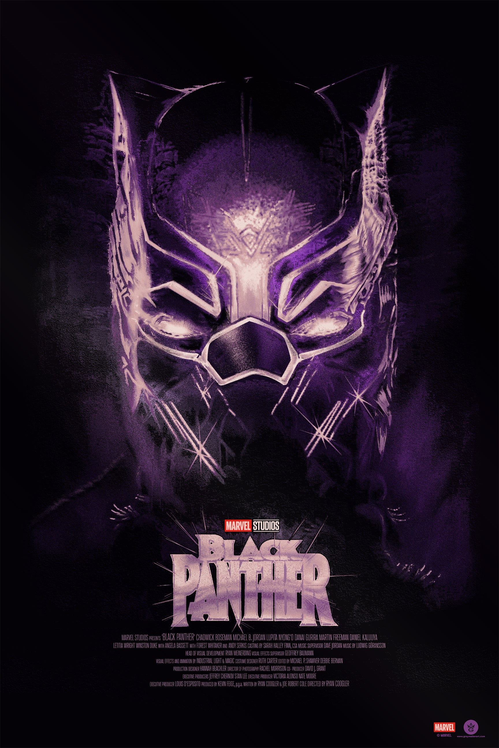 Fernando Reza Black Panther Bottleneck Art Gallery