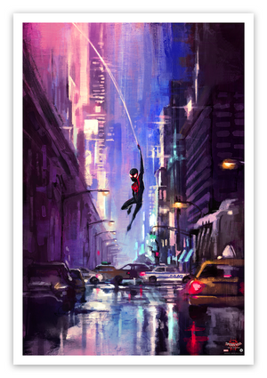 "Alice X. Zhang ""Spider Man: Into the Spider-Verse"" SET"
