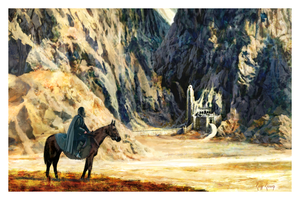 "Cliff Cramp ""Aragorn At Helms Deep"""