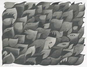 "Anna Witt ""Creature Leaves"" Print"