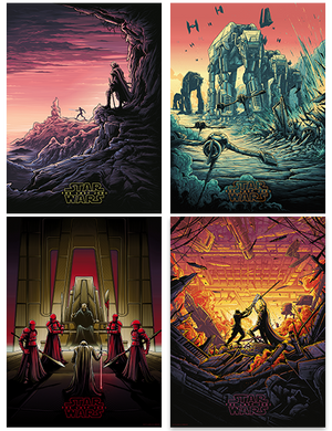 "Dan Mumford ""Star Wars: The Last Jedi"" Variant Edition SET"