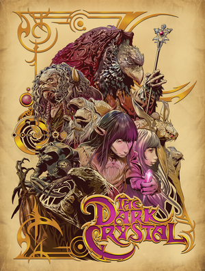 "Sergio Sandoval ""The Dark Crystal"""
