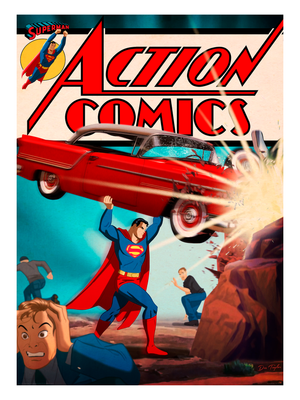 "Des Taylor ""Action Comics #1"""