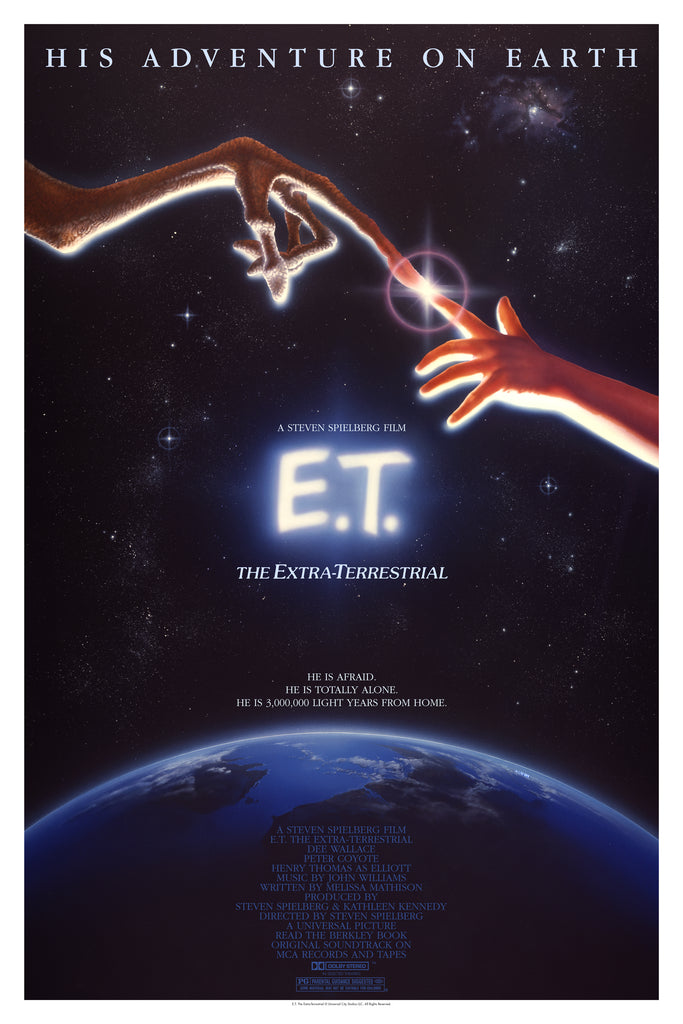 E.T. the Extra-Terrestrial by John Alvin On Sale Info!