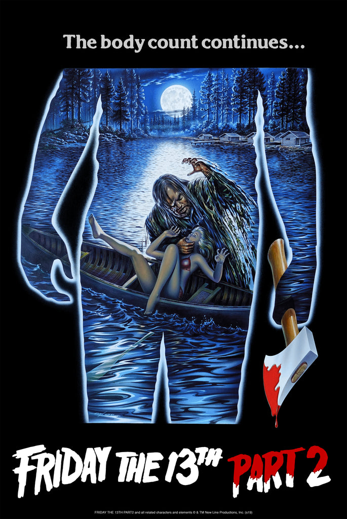 FRIDAY THE 13TH PART 2 BY SPIROS ANGELIKAS - ON SALE INFO!