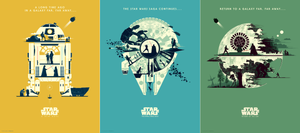 "Matt Ferguson ""Star Wars Trilogy"" Timed Edition SET"