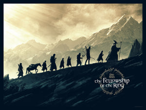 "Matt Ferguson ""The Lord of the Rings: The Fellowship of the Ring"" Quad"