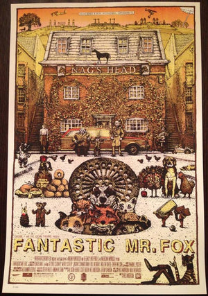 "David Welker ""Fantastic Mr. Fox"" Regular Edition A/P"