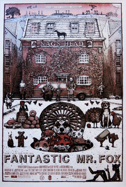 "David Welker ""Fantastic Mr. Fox"" Variant Edition A/P"