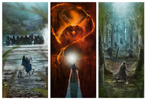 "Andy Fairhurst ""The Lord of the Rings"" SET"
