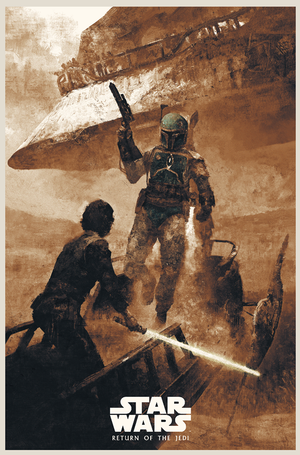 "Karl Fitzgerald ""Return of the Jedi - Skywalker Returns"""