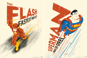 "Doaly ""The Flash & Superman"" SET"