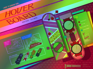 "Florey ""Back to the Future - Infographics"" Foil Variant"