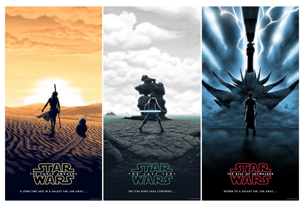 STAR WARS Sequel Trilogy by FLOREY - On Sale INFO!
