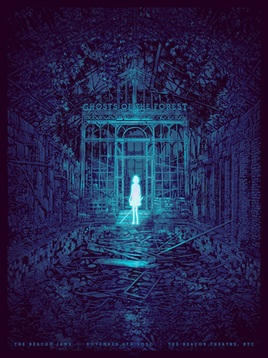 "Daniel Danger ""The Beacon Jams: Ghosts of the Forest"" Variant"
