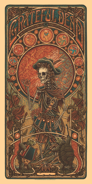 "Luke Martin ""Grateful Dead"" Timed Edition"