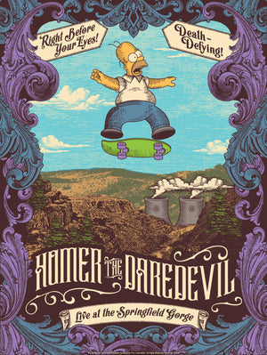 "Justin Helton ""Homer the Daredevil"""