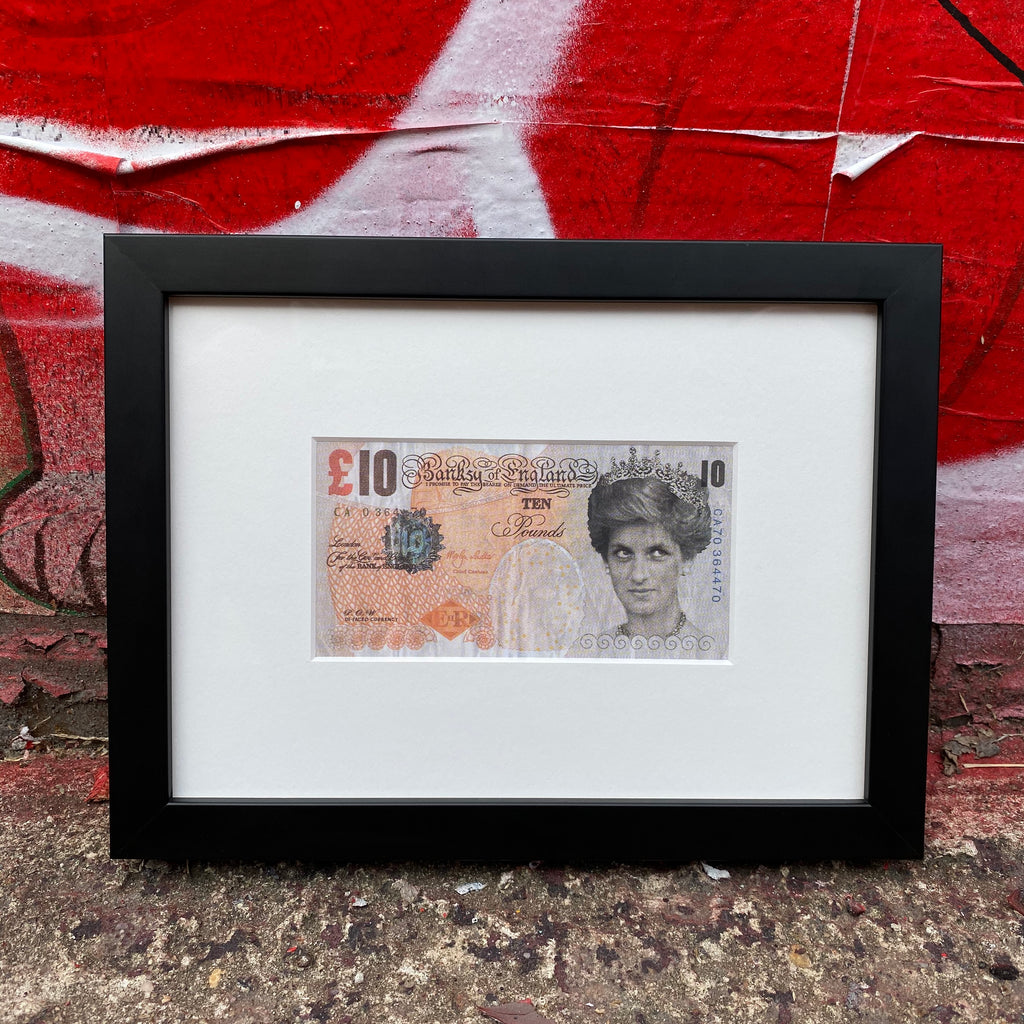 BANKSY DI-FACED TENNER - FINAL ALLOCATION - ON SALE INFO!