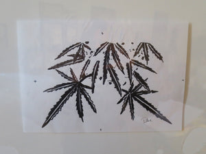 Buds & Weed OG Black Marker sketch